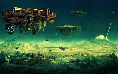 Sci Fi Planet 1080p Planets Science Settings
