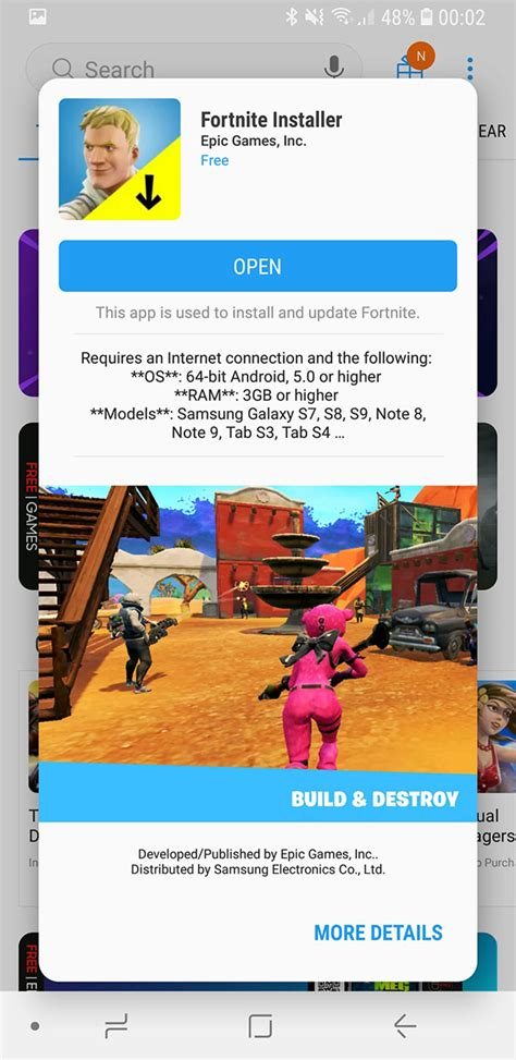 install fortnite apk   android