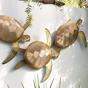 Sea turtle trio wall decor frontgate