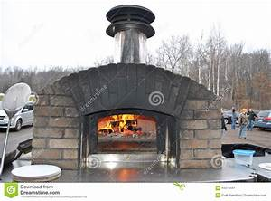 Four Pizza Exterieur : four ext rieur de pizza de brique image stock image du ~ Melissatoandfro.com Idées de Décoration