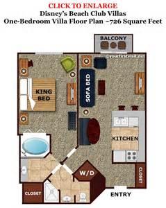 bedroom floorplan sleeping space options and bed types at walt disney world