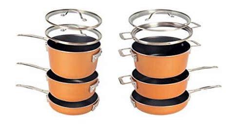 space saving cookware set    cookware