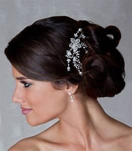 Peigne Cheveux Mariage : peigne mariage strass et fleurs coquelicot ~ Preciouscoupons.com Idées de Décoration