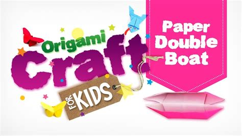 How To Make A Paper Double Boat by How To Make Origami Paper Double Boat In Tamil Origami