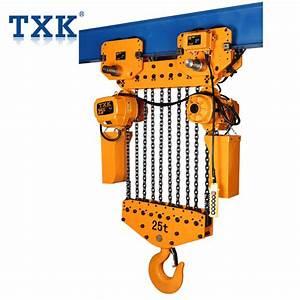 Txk 10 Ton Electric Chain Hoist Manual Chain Hoist Chain