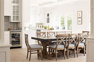Wood and Zinc Dining table with Swivel barstools and Rush