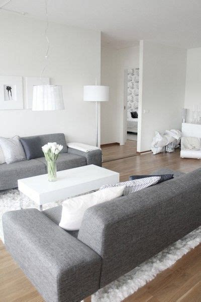 living room ideas white walls grey couch modern living room white wall interior pinterest grey modern living rooms and