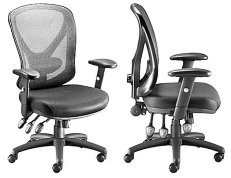 staples hykentm technical mesh task chair black 50