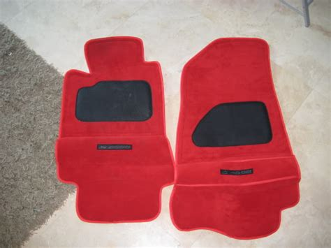 red muz floor mats red s2000 forums