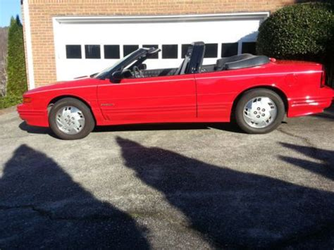 how to sell used cars 1993 oldsmobile cutlass cruiser electronic throttle control sell used 1993 oldsmobile cutlass supreme base convertible 2 door 3 1l in norcross georgia