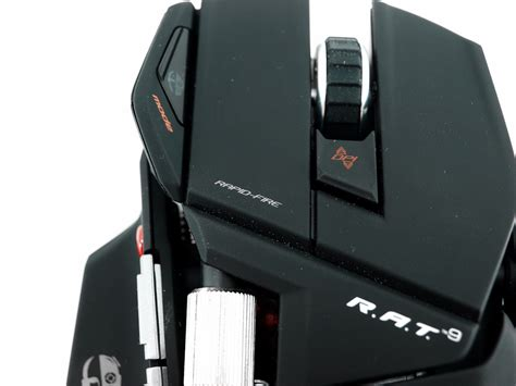 Mad Catz Cyborg Rat9 Wireless Gaming Mouse Review