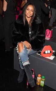 Karrueche Tran from Stars at New York Fashion Week Spring ...