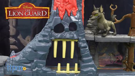 The Lion Guard Hyena's Hide Out Playset From Just Play