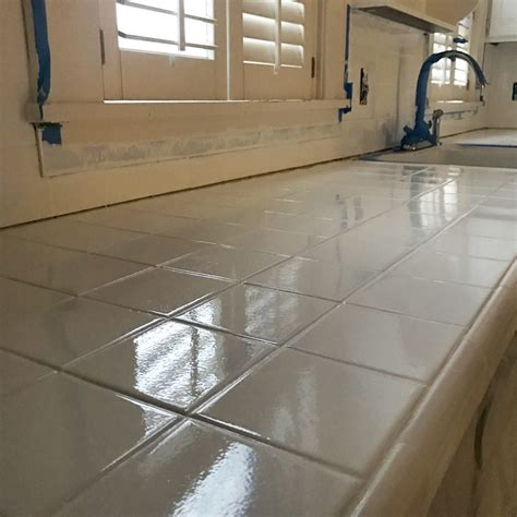 How To Refinish Bathroom Tile by How To Refinish Your Kitchen Or Bathroom Tile