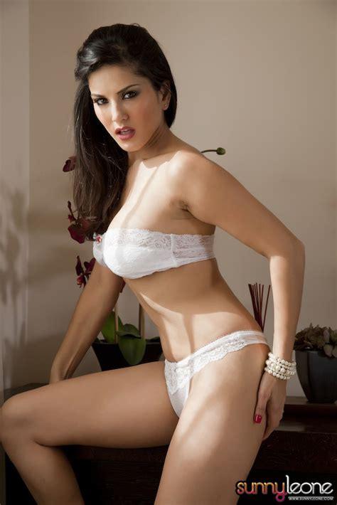 Sunny Leone Exclusive Sexy Photoshoot In White Bikini
