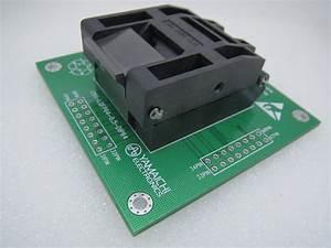 Original Yamai Chi Ic51 0644 807 Lqfp64 Qfp64 Ic Test Socket Burning Seat Conversion