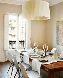 Chemin De Table Moderne : 101 id es pour la nappe de table un accessoire indispensable ~ Teatrodelosmanantiales.com Idées de Décoration
