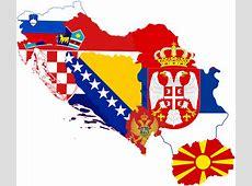 FileFormer Yugoslavia Flag Map Without Kosovopng