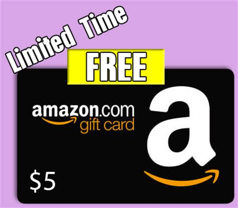 Free $5 Amazon Gift Card  Text Messaging Req Clearance