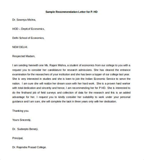 Free Recommendation Letter Sle 30 recommendation letter templates pdf doc free
