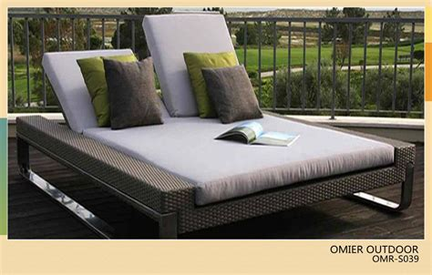 Patio Loungers On Sale by Luxury Modern Outdoor Sun Bed Rattan Sun Lounger