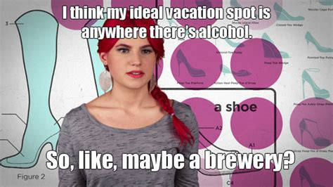 Girl Code Meme - she who packs a punch carly aquilino s best quips spelled out in memes girl code mtv tvs