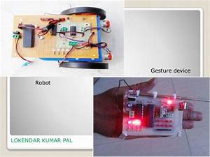 Wireless Gestured Controlled Robot Using Accelerometer