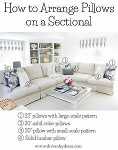 pillows 101 how to choose arrange throw pillows With sectional sofa how to arrange