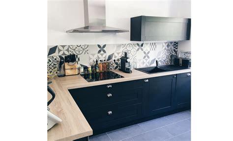 poser une credence de cuisine diy d 233 co 4 id 233 es cr 233 atives avec un sol vinyle maclou maclou