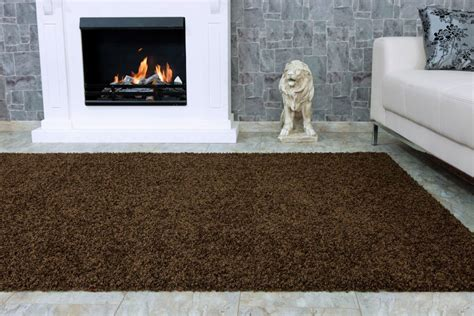flokati teppiche fancyhometrends shaggy carpet rug fancy shaggy grey in