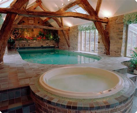 Indoor Swimming Pool Cost To Build Modern House Plans With