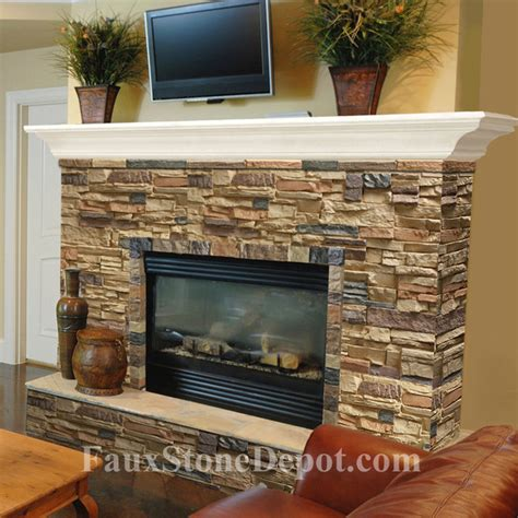Lowes Fireplace Screens by Faux Stone Fireplaces Traditional Living Room Miami