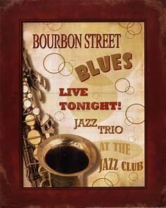 New Orleans Jazz III ~ Fine-Art Print - Vintage Music Art ...