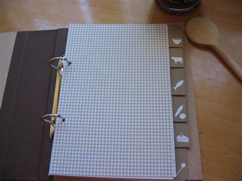 carnet de cuisine vierge cahier de recettes méli mélo créatif