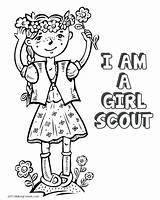 Coloring Elf Shelf Scout Boy Brownie Getdrawings Printable Drawing Getcolorings Cookie Standing Daisy Colorings sketch template