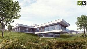 Dům v mírném svahu