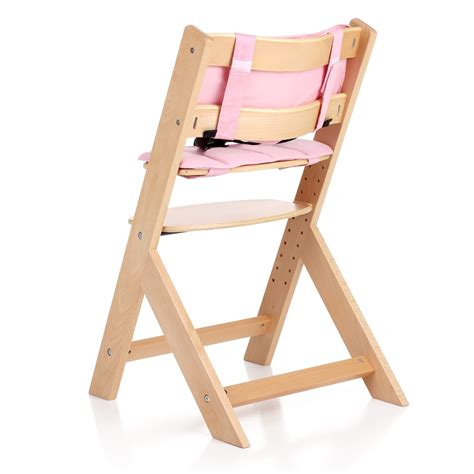 chaise haute en bois pour bébé interougehome chaise haute bébé en bois réglable en