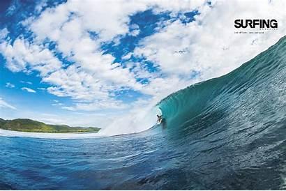 Surfing Wallpapers Surf Magazine Desktop Backgrounds Teahupoo