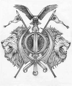 Khanda tattoo design by Pen-Tacular-Artist on DeviantArt