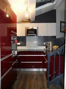 la cuisine shabille de rouge le blog darthur bonnet With good idee deco pour maison 10 cuisine rouge cerise