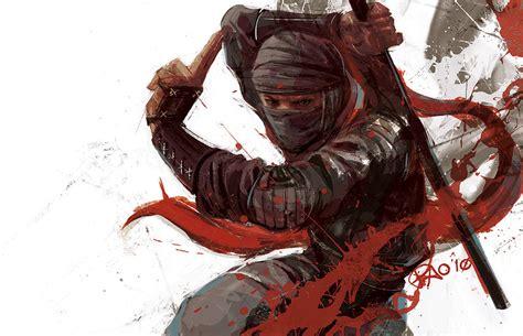 great ninja illustrations  artwork crispme