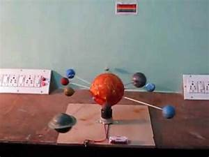 Solar System working prototype - YouTube
