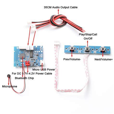 Bluetooth Audio Receiver Module Amplifier Board Wireless