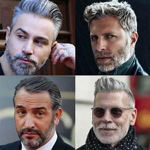 Graue Haare Männer Trend : frisuren und haare silber und graue haare f r m nner frisuren und haare ~ Frokenaadalensverden.com Haus und Dekorationen