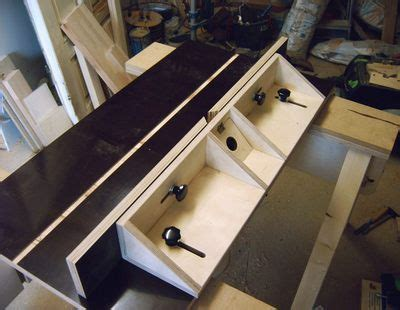 woodwork router table fence plans  plans