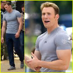 I've always wanted to be Captain America.. Going for Chris ...