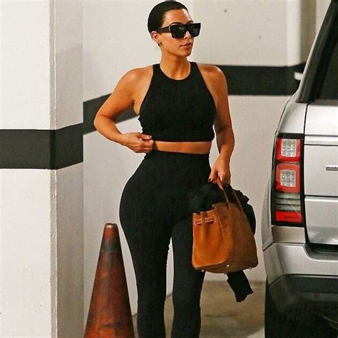Kim Kardashian to Kate Hudson Stars and their favorite workout wear brands - HELLO! US