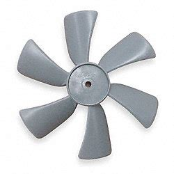 thorgren plastic fan blades thorgren fan blade 6 in plastic fan blades 5c174