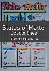 States Of Matter Doodle Sheet