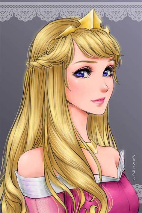 les princesses disney version manga momesnet